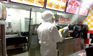 Дезинсекция от тараканов ресторана в Сочи по Договору