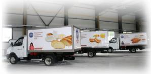 Автотранспорт для перевозки пищевых продуктов