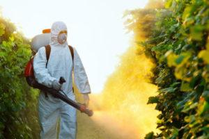 Обработка против комаров